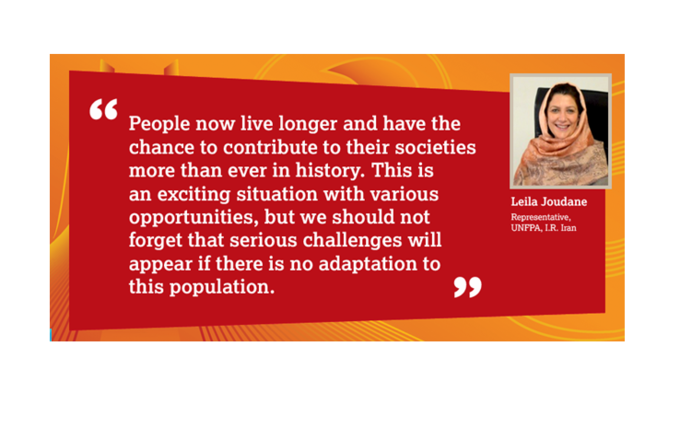 Interview with Leila Joudane, UNFPA Representative in I.R. Iran