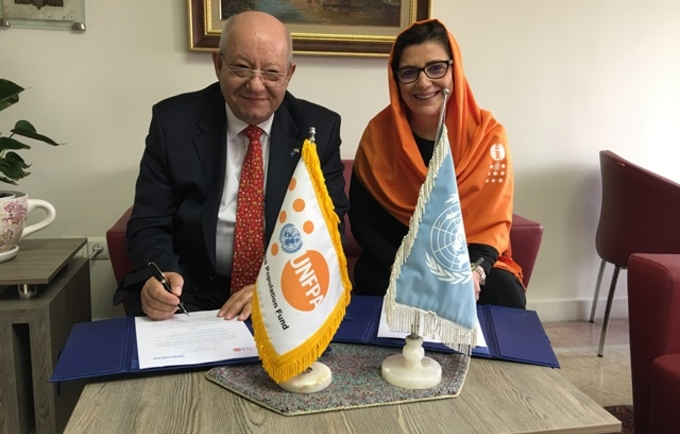 The start of a collaboration between UNFPA and UN-Habitat in I.R. Iran