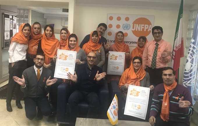Human Rights Day (10 Dec.) Symbolizes End of Orange Campaign