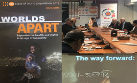 Discussion session with Donors & International Community  on the 2017 State of World Population Report