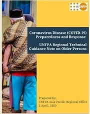 UNFPA Regional Guidance Note on Older Persons